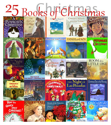 25 Days of Christmas Books | twentysixcats